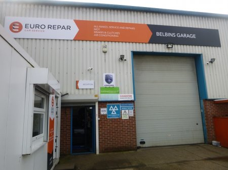 BELBINS GARAGE HAS OFFICIALLY LAUNCHED AS AN EURO REPAR CAR SERVICE CENTRE.
