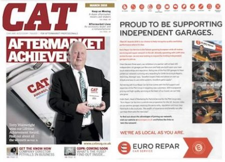 We Are Proud To Be Sponsoring Independent Garages for the Cat Awards 2018