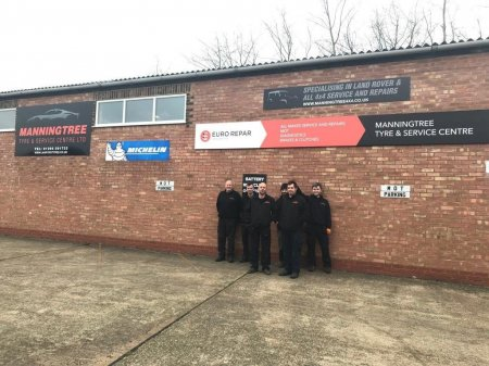 MANNINGTREE TYRE & SERVICE CENTRE LTD PREPARES TO CELEBRATE ONE YEAR AS A EURO REPAR CAR SERVICE PARTNER