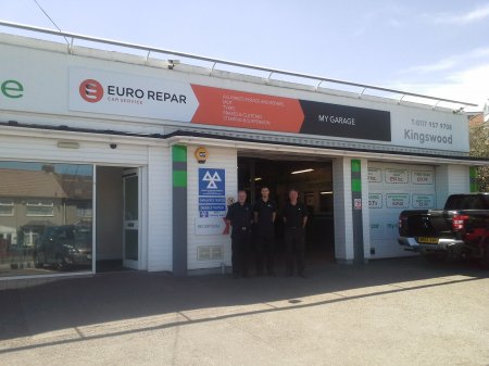 MY GARAGE AUTO LTD CELEBRATES JOINING THE EURO REPAR CAR SERVICE NETWORK.