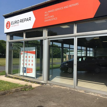 SEMPLES OF BERWICK CELEBRATES JOINING THE EURO REPAR CAR SERVICE NETWORK.