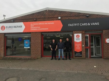 FAST FIT CARS & VANS JARROW IS NOW AN OFFICIAL PARTNER OF THE EURO REPAR CAR SERVICE NETWORK.