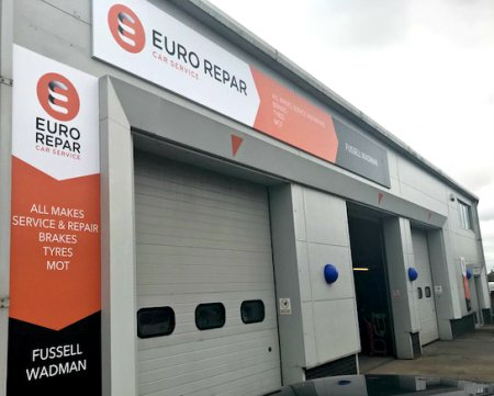 Fussell Wadman Becomes One of the UK's First Eurorepar Car Service Centres.