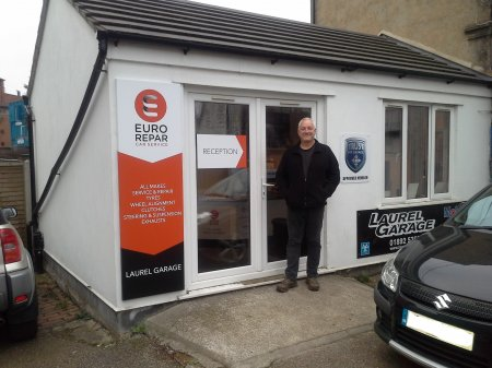 LAUREL GARAGE CELEBRATES PARTNERSHIP WITH EURO REPAR CAR SERVICE.