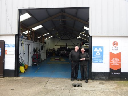THE GARAGE AT WOBURN SANDS CELEBRATES ITS FIRST ANNIVERSARY PARTNERED WITH EURO REPAR CAR SERVICE.