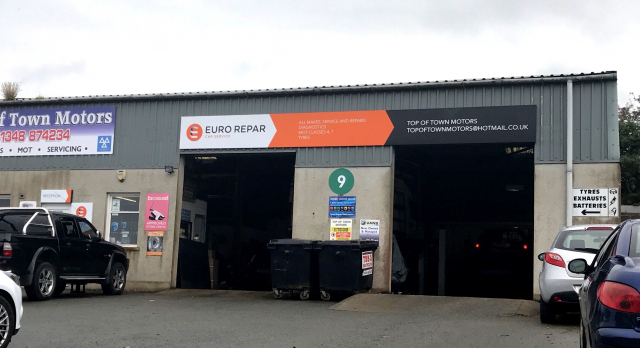 Top Of Town Motors Fishguard Euro Repar Car Service